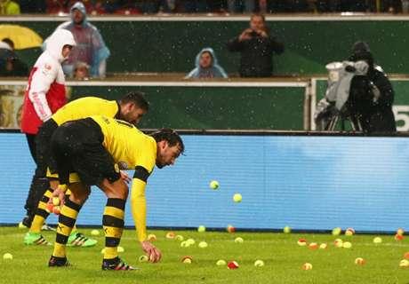 '테니스공'에 담긴 BVB 팬들의 진짜 불만은?