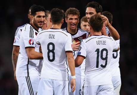 Alemania ganó y lidera