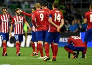 Atletico Madrid musste sich erneut mit dem zweiten Platz begnügen