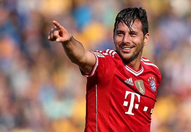 Claudio Pizarro findet an seiner Rolle beim FC Bayern durchaus Gefallen