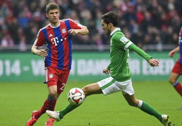 Werder Bremen 0-4 Bayern Munich: Bundesliga leaders storm 14 points clear