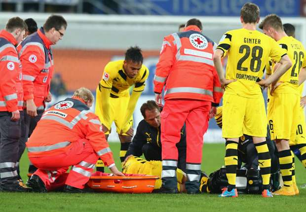 Paderborn 2-2 Borussia Dortmund: Reus injured as BVB collapse