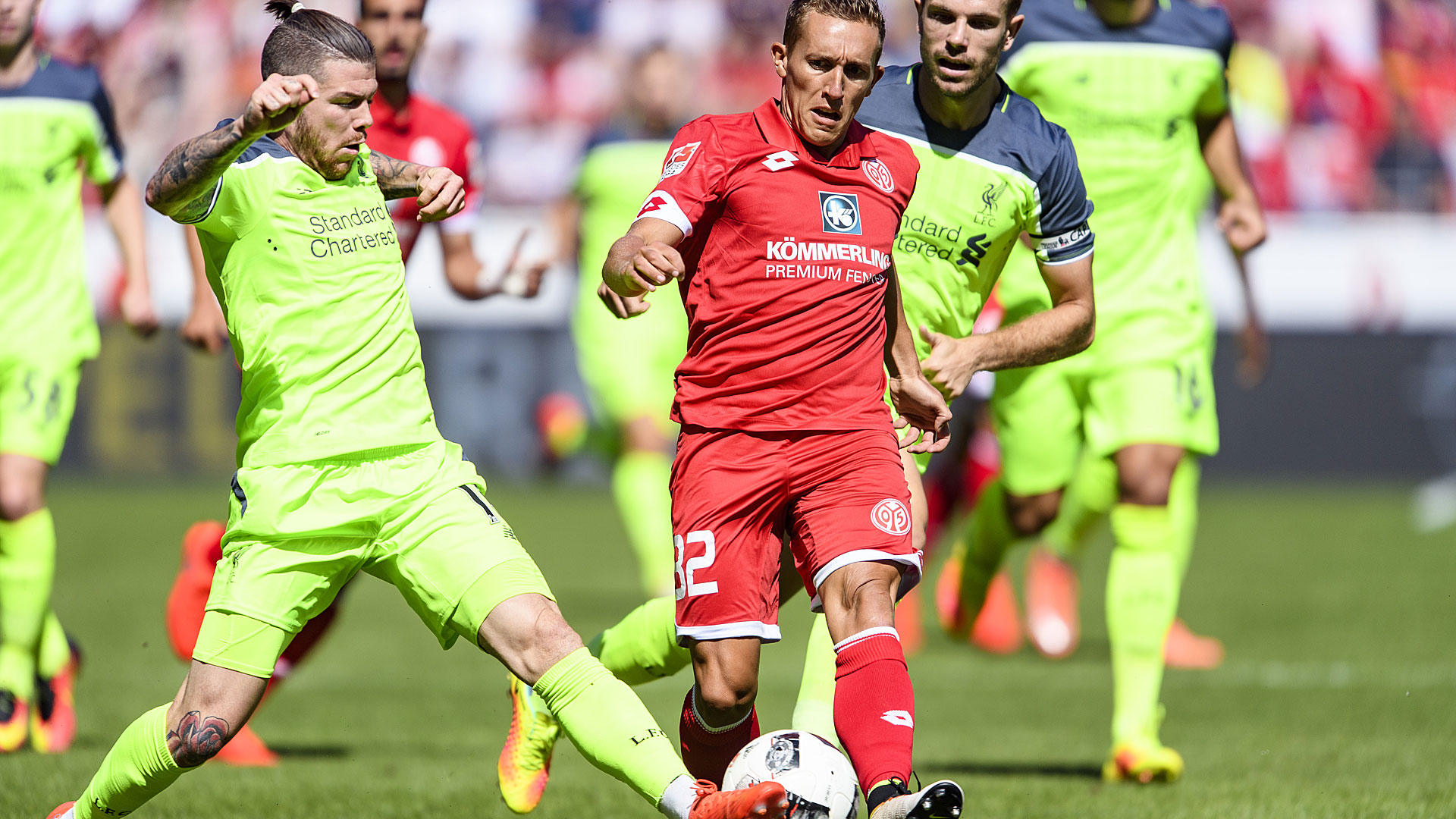 Video: Mainz 05 vs Liverpool