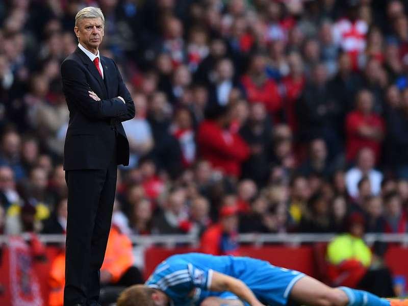 Arsene Wenger war mit der Leistung seiner Mannschaft zufrieden