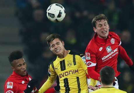 Dortmund frustrated at Mainz