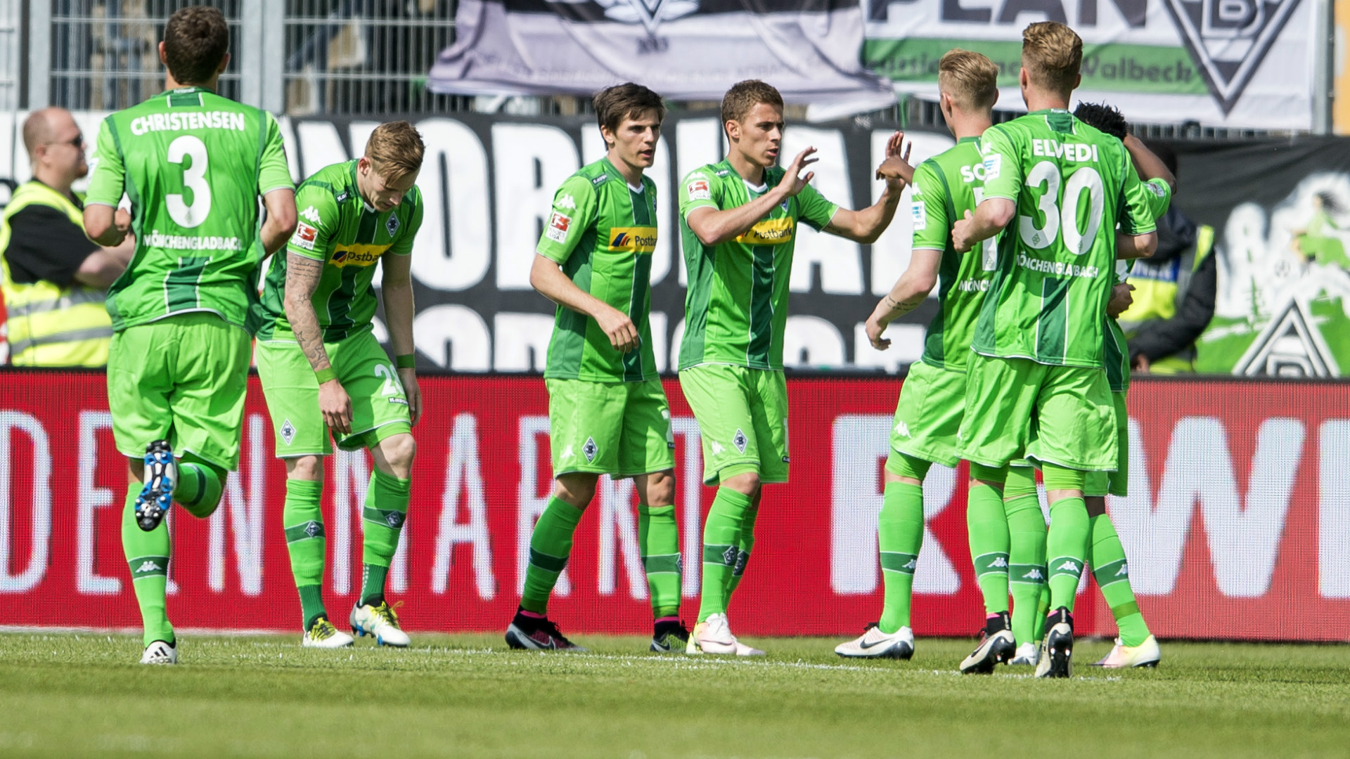 Video: Darmstadt 98 vs Borussia M gladbach