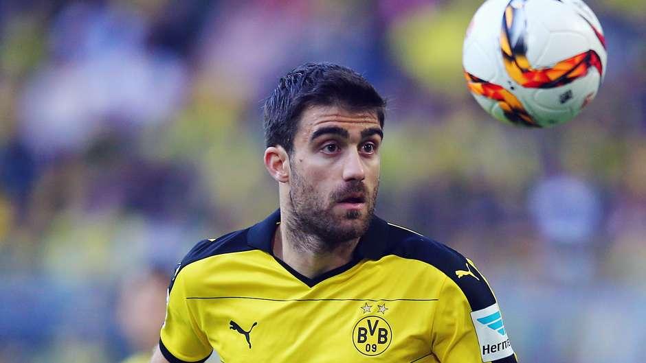 Sokratis Borussia Dortmund Bundesliga 09272015