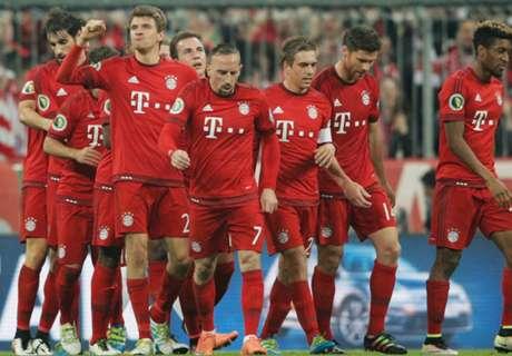 DFB Pokal: Bayern 2-0 Bremen