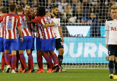 Oblak stars for Atletico as Spurs lose