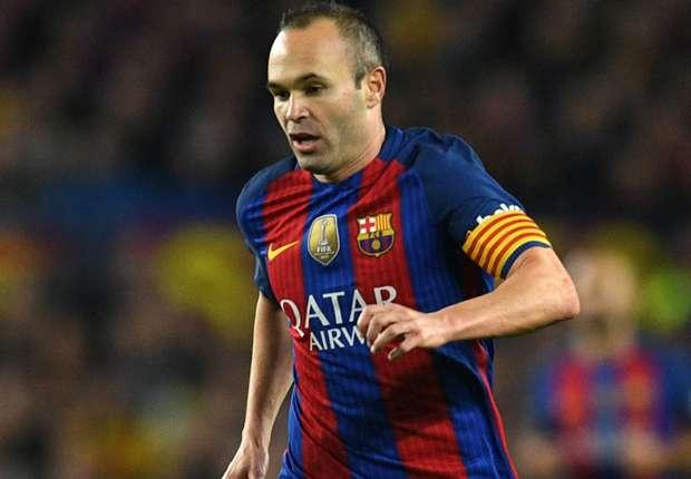 رسميًا   برشلونة يؤكد إصابة إنييستا -