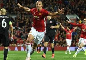 Zlatan Ibrahimovic erzielte das umjubelte Siegtor für Manchester United