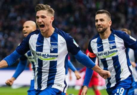 Hertha zwingt Köln in die Knie