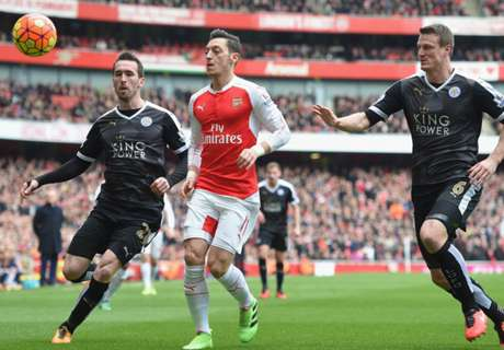 LIVE: Arsenal 0-1 Leicester