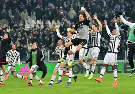 La racha ganadora de Juventus