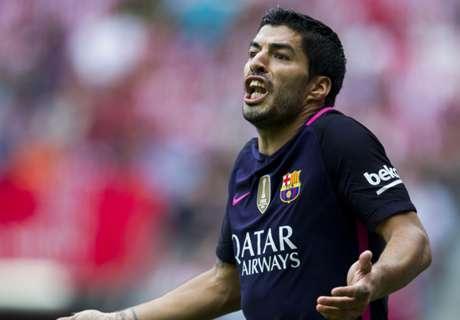 Erneuter Aussetzer von Luis Suarez