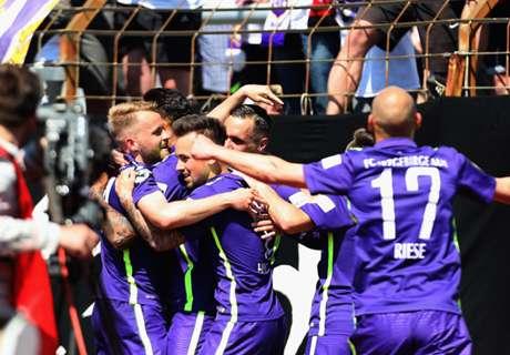 3. Liga: Erzgebirge Aue feiert Aufstieg