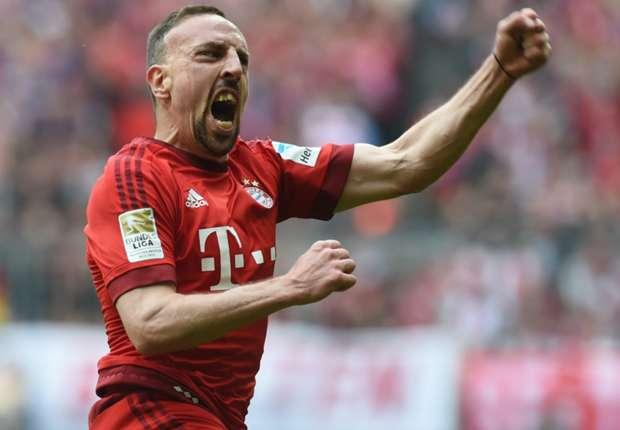 Franck Ribery legte gegen Eintracht Frankfurt eine Flugshow hin