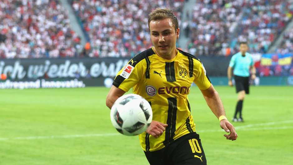 Mario Götze Borussia Dortmund 10092016