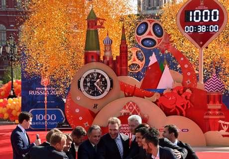 WM: Russland gibt Fanfest-Orte bekannt