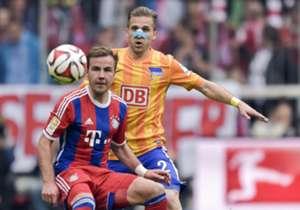 Bayern venció a Hertha de Berlín por la mínima.