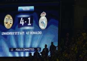 2013 deklassierte der BVB Real Madrid im Hinspiel des Champions-League-Halbfinals mit 4:1, Lewandowski war der Mann des Abends. Am Dienstag (20.45 Uhr im LIVE-TICKER) kommt es nun zum Wiedersehen in der CL. Goal blickt zurück auf das Sensations-Spiel v...