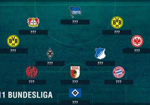 """Chicharito erlegte Mainz im Alleingang, auch ein mexikanischer Landsmann überzeugte erneut. Ebenfalls dabei: Zwei leichtfüßige Dortmunder und ein """"Goalgetter""""."""