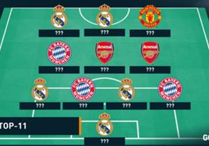 Mesut Özil hat sich seine Top-11 zusammengestellt. Mit dabei sind auch zwei seiner aktuellen Klub-Kollegen.