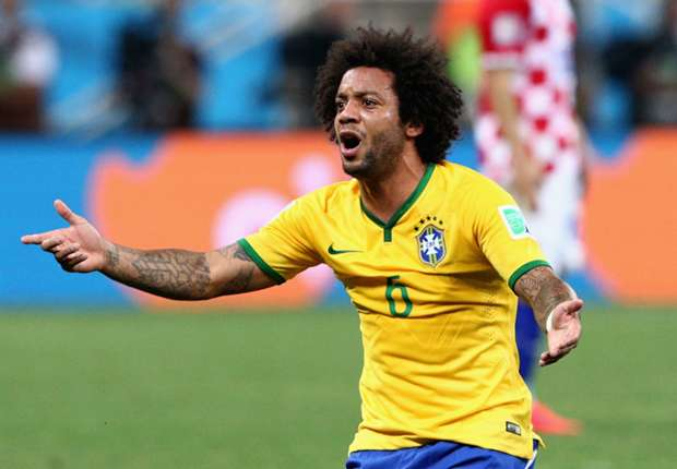 Marcelo Brazil Croatia 2014 World Cup Group A