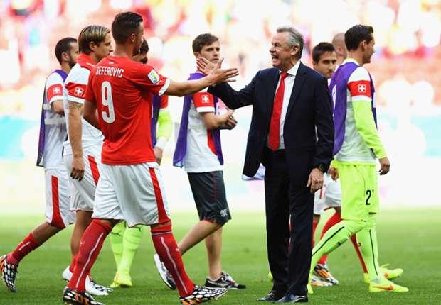 Der Schweizer Trainer Ottmar Hitzfeld