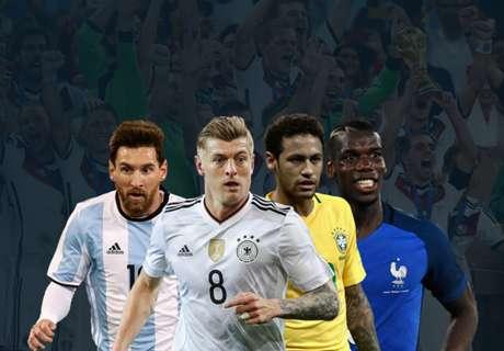 WM 2018: Wer hat die größte Breite?