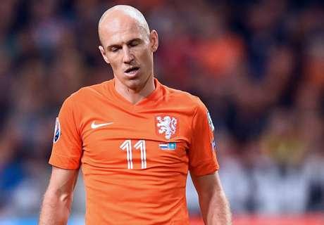 Pays-Bas, Robben absent mais avec Sneijder