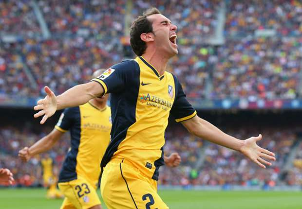 La Liga Team of the Week: Godin leads Atletico to title triumph at Barcelona