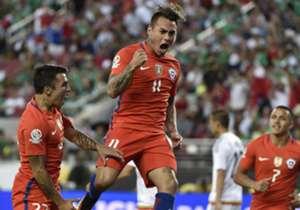 Un repaso por los máximos artilleros del torneo. En la última edición, Eduardo Vargas fue el máximo goleador con seis tantos.