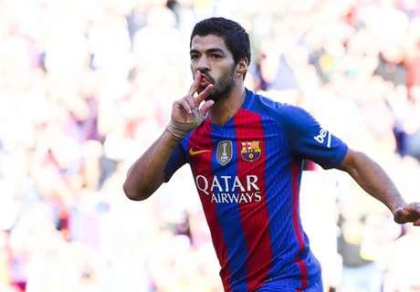 Rivais de Manchester brigam por Suárez