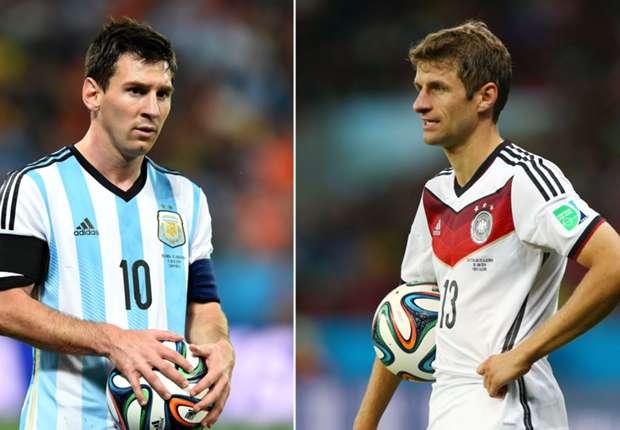 Müller e Messi: fuoco alle polveri