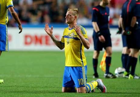 Carvalho the villain as Sweden triumph