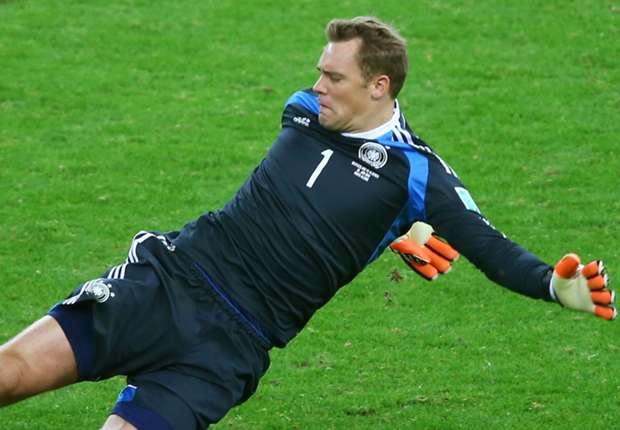 Manuel Neuer machte gegen Algerien mehrere Ausflüge aus seinem Tor