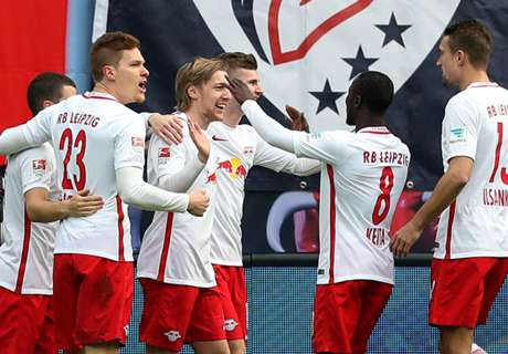 RB Leipzig blijft in spoor Bayern