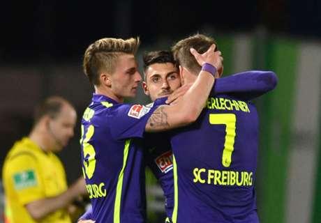 2. Liga: Freiburg siegt mit 3:2