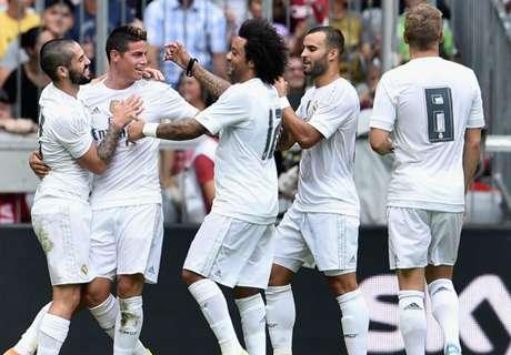 Dos partidos sin marcar en el Real Madrid