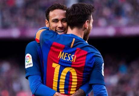 La MSN, el mejor tridente goleador de Europa