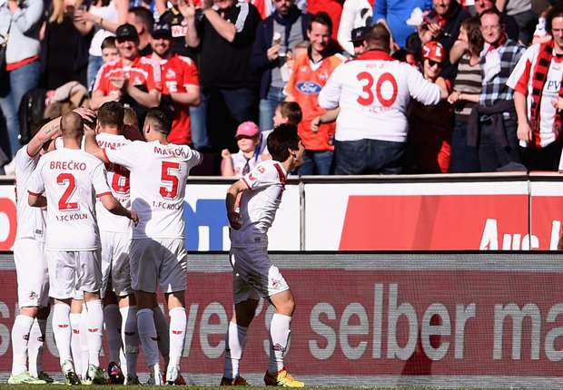 Jubel beim FC: In der Tabelle rangiert Köln nun auf dem elften Platz