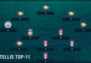 Egal ob in der Premier League, der Serie A oder in der italienischen Nationalmannschaft - Balotelli spielte bereits mit einigen Top-Stars zusammen. Goal zeigt euch seine Top-Elf der ehemaligen Teamkollegen.
