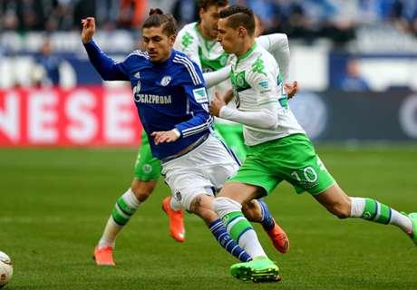 Permak Wolfsburg, Schalke Ke Empat Besar