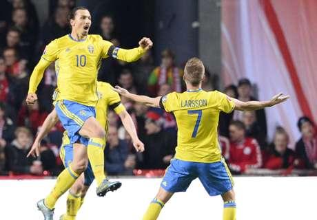 Ibra schießt Schweden zur EM