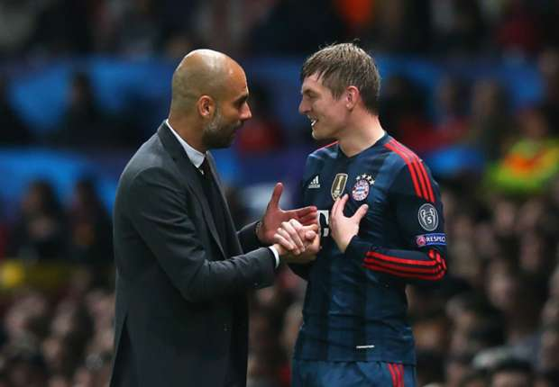 Guardiola thinks differently - Kroos