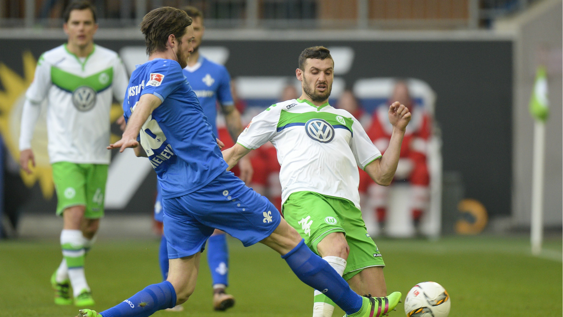 Video: Wolfsburg vs Darmstadt 98