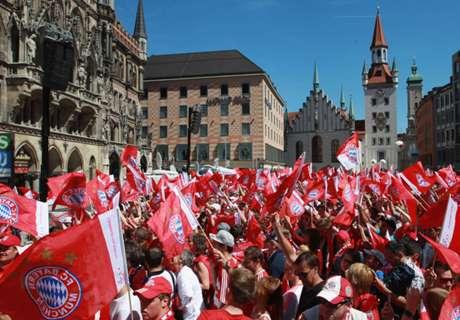 Bayern celebró a lo grande