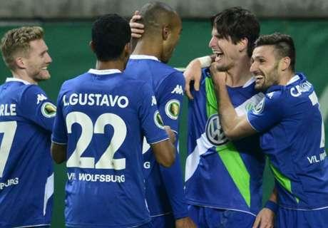 REVIEW: Wolfsburg Melenggang, Bremen Tersisih