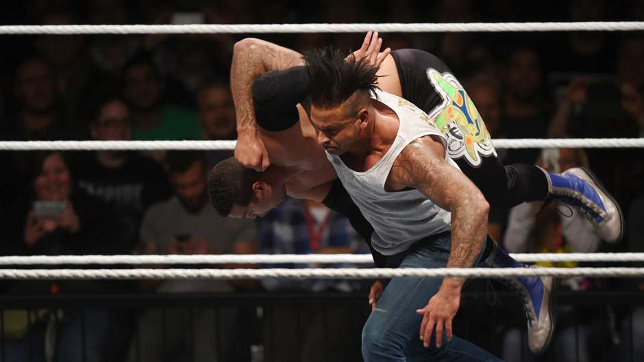 wrestling tim wiese live